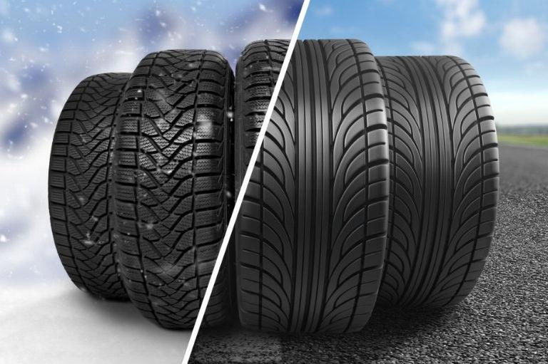 Zimní vs. letní pneumatiky v zimě:
